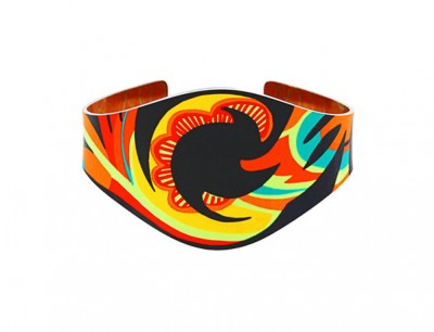 Tropical Orange Bangle