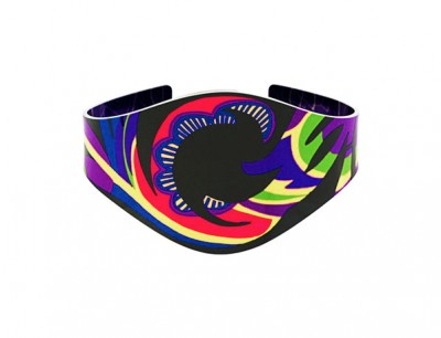Tropical Purple Bangle