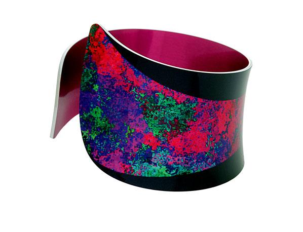 Starburst Pink bangle