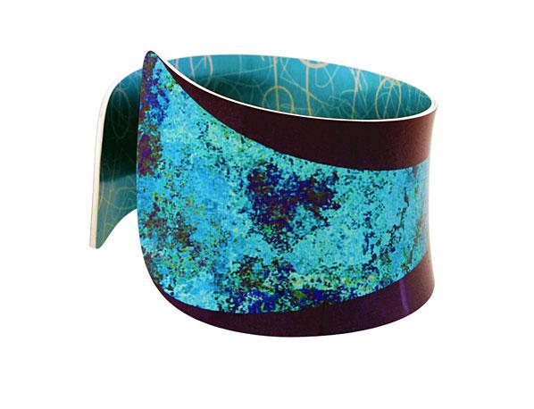 Starburst Turquoise bangle