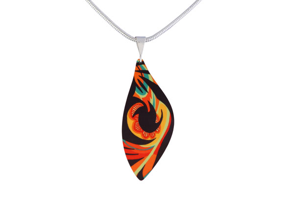 Tropical Orange Pendant