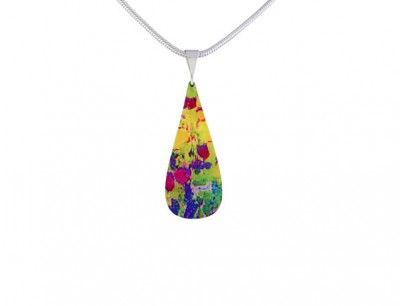 Water Lily Green Pendant