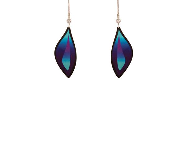 Ocean Purple Earrings