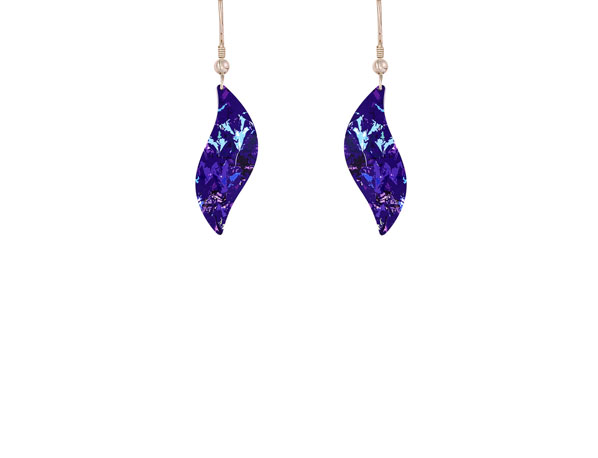 Meadow Purple earrings
