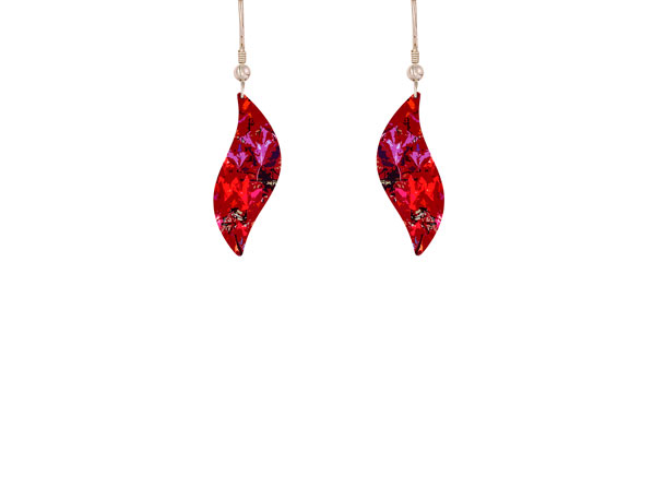 Meadow Red Earrings