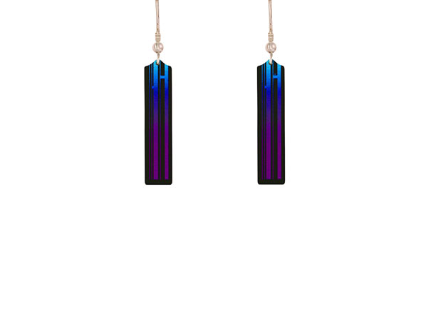New York Purple earrings