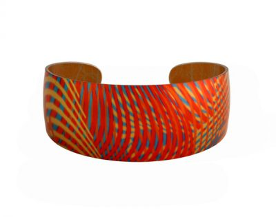 Weave-Gold-Bangle