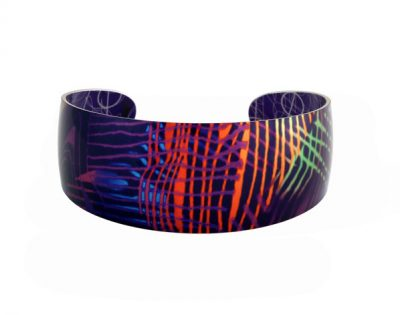 Weave-Purple-Bangle