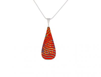 Weave Red Pendant