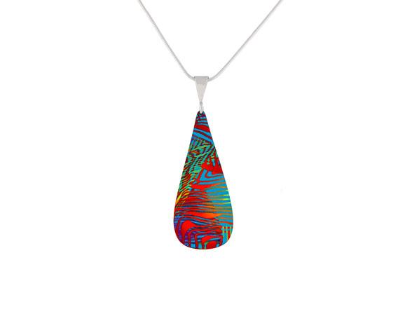Weave Turquoise pendant