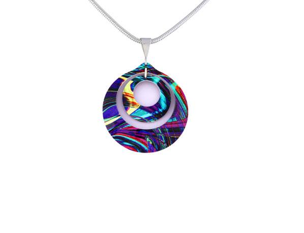 Carnival Purple Pendant