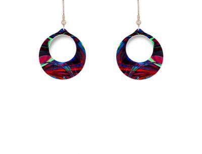 Carnival Red Earrings