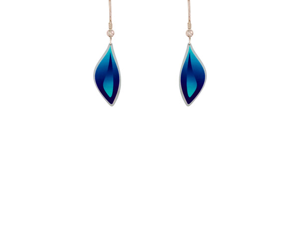 Ocean Blue small earrings