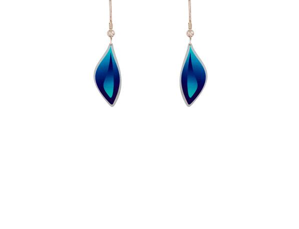 Ocean Blue small earrings