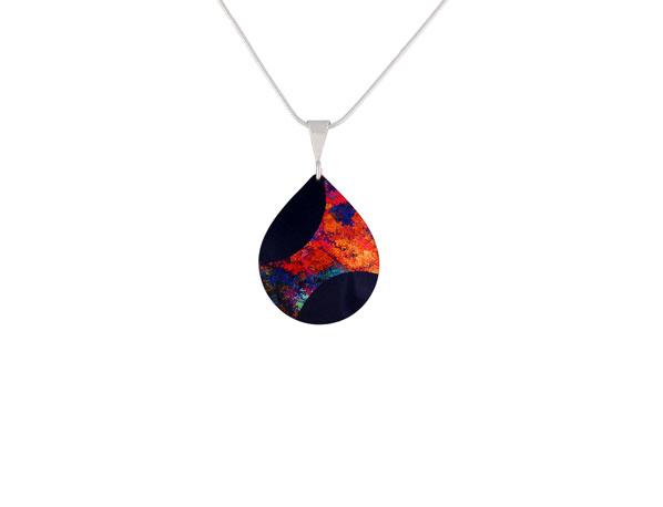 Starburst Orange small pendant