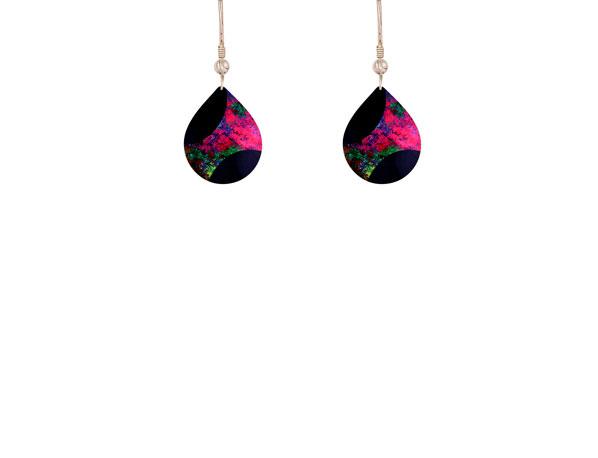 Starburst Pink small earrings