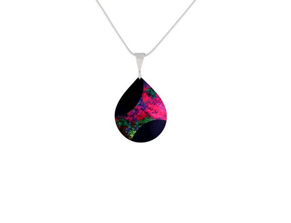 Starburst pink small pendant