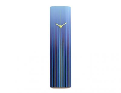 Flare Blue Wall Clock