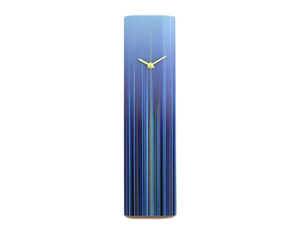 Flare Blue Wall Clock