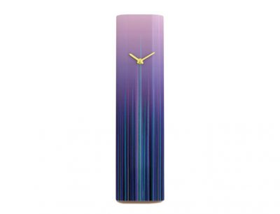 Flare Purple Wall Clock