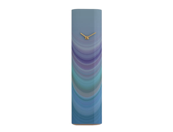 Strata Blue Wall Clock
