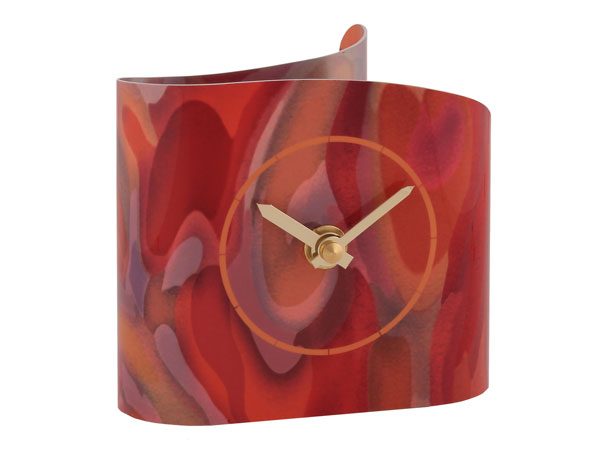 T5 Watermark Blush Desk Clock