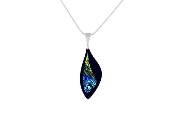 Contour Blue small pendant