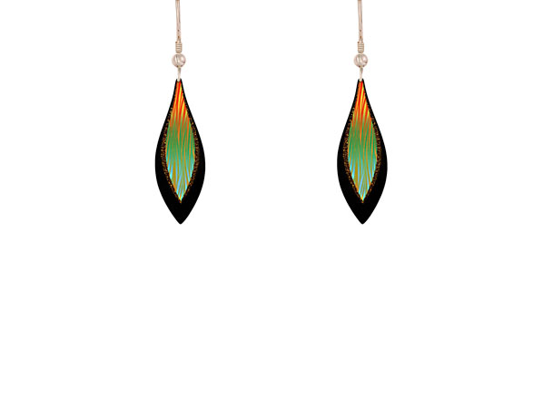 Harmony Green Earrings