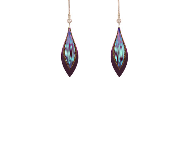 Harmony Purple Earrings