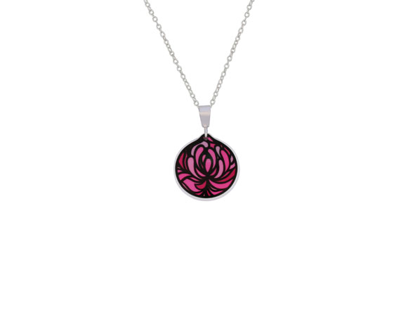 Blossom Pink Cup pendant