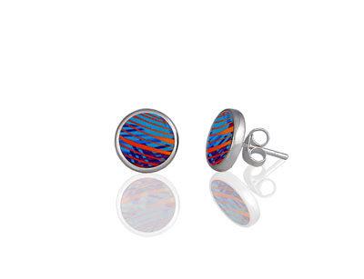 Weave Turquoise Stud Earrings