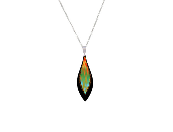 Harmony small green pendant