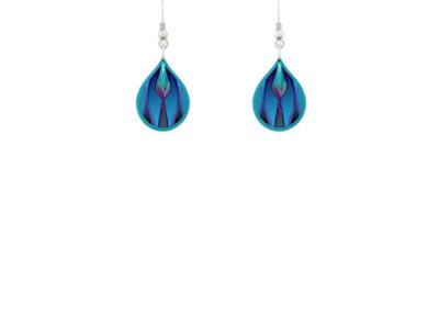 Tulip Blue Earrings