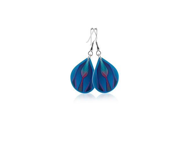 Tulip-Blue-Earrings