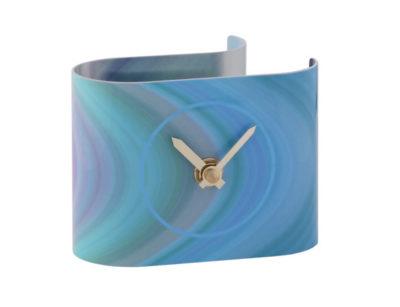 T5 Strata Blue Desk Clock