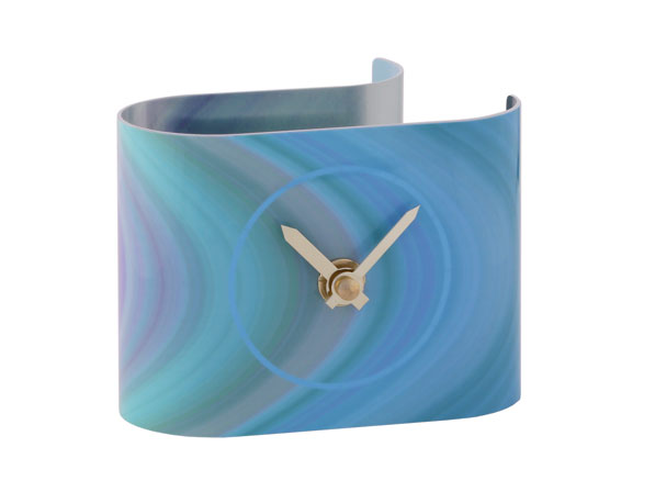 T5 Strata Blue Desk Clock