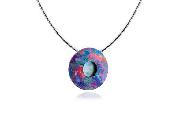 Confetti-Blue pod-Pendant