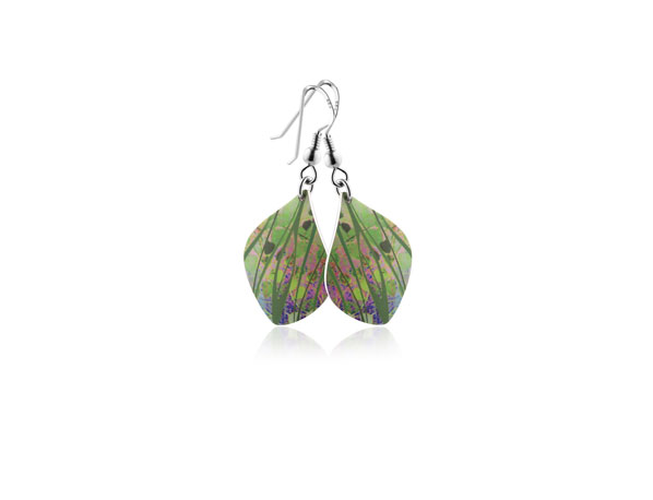 Honesty-Green-Earrings