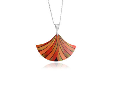 Ribbon-Orange-Pendant