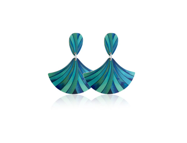 Ribbon-Turquoise-Earrings