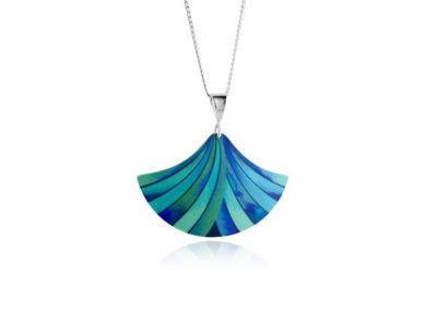 Ribbon-Turquoise-Pendant