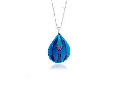 Tulip-Blue-Pendant