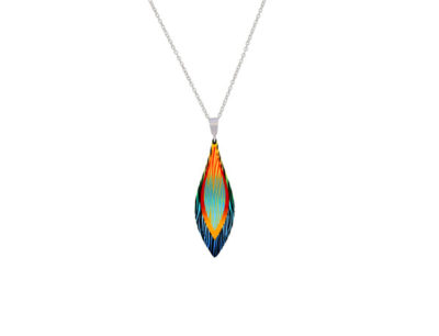 Harmony orange small pendant