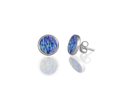 Honesty Blue Stud Earrings