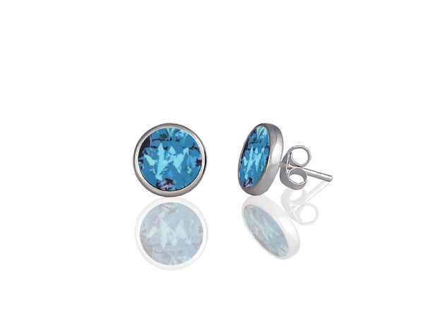 Meadow Blue Stud Earring