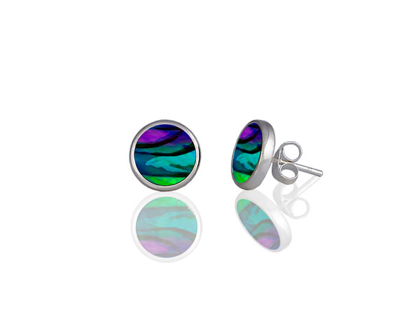 Rose Purple Stud earrings