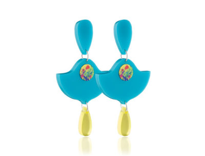 Duo Lily Turquoise earrings