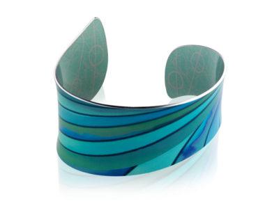 Ribbon Turquoise Bangle