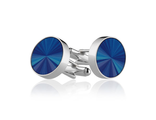 Blue Ray Cufflinks Pixalum