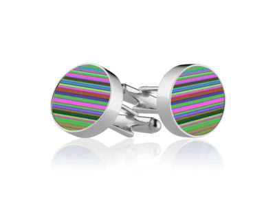 Multi-Stripe Cufflinks